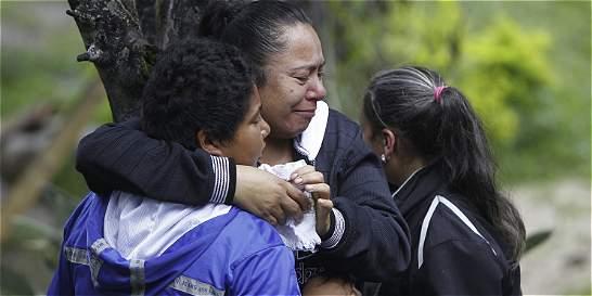 Tragedia de mineros en Amagá: 'Esperamos un milagro', dicen pobladores