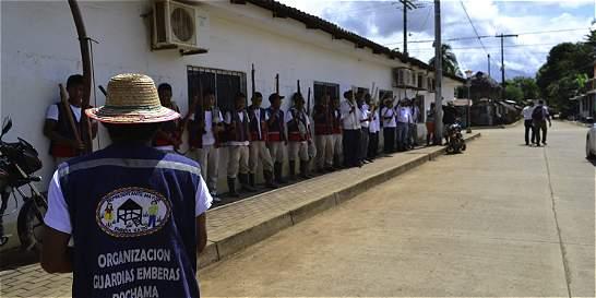 Guardia indígena contra fallo que tumba municipio San José de Uré