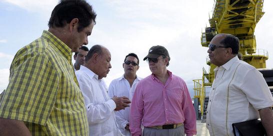 Se inaugura Puerto Brisa, donde se moverán 5.000 toneladas por hora