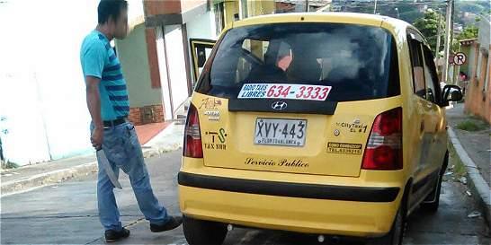 Taxista amenaza con machete a pasajeros en Bucaramanga