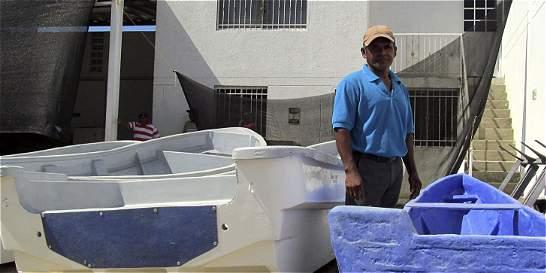 Drummond repara embarcaciones de pescadores de Ciénaga (Magdalena)