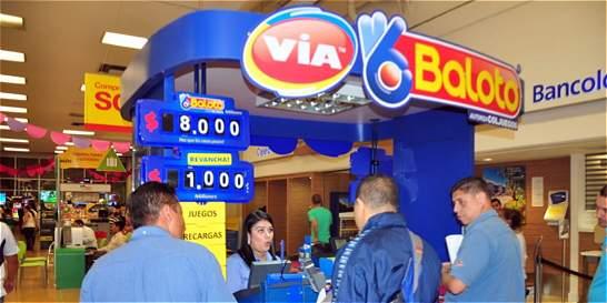 Dos ganadores del Baloto en Envigado y Espinal por $15.000 millones