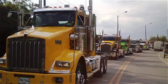 Camioneros se hicieron sentir en Cauca y Valle