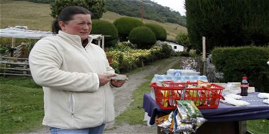 La mala hora de los comerciantes por alerta en el Nevado del Ruiz