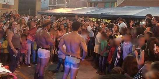 Alcaldía de Anzoátegui celebró el Día de la Mujer con desnudistas