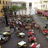 'Por el cielo' está costo del espacio público en plazas de Cartagena