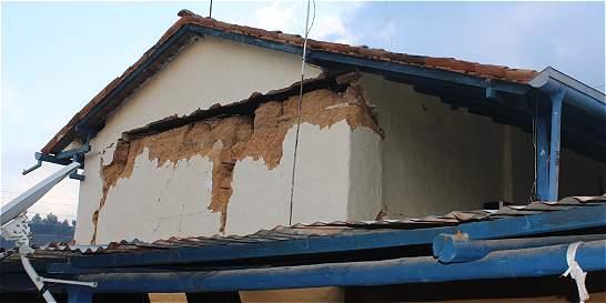 'Dos segundos más de sismo y se van al piso las casas de Betulia'