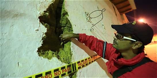Tras temblor, Santos declara calamidad pública en Betulia, Santander
