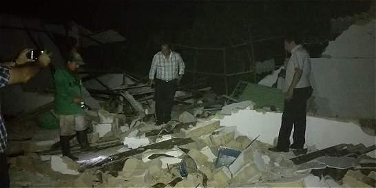 En Rionegro (Santander) el temblor destruyó 100 viviendas