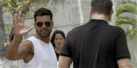 Ricky Martin causa revuelo en rodaje de 'La Mordidita', en Cartagena