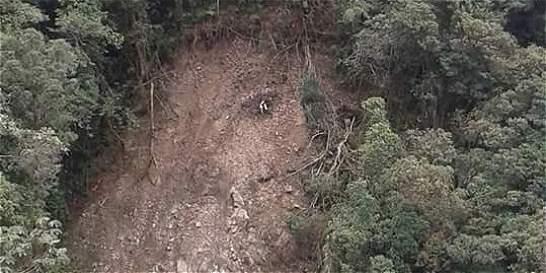 Un derrumbe en Putumayo habría formado el rostro de Jesús