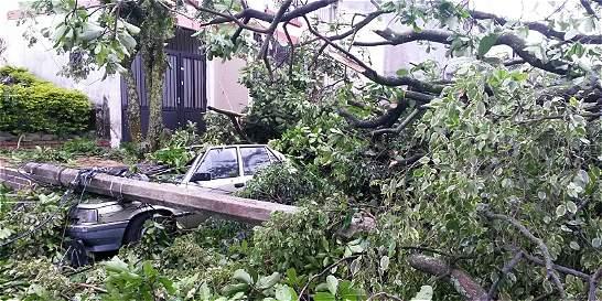 Aguaceros y tempestades dejaron la primera víctima en Tolima