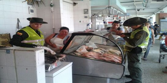 Incautan pescado en Bucaramanga que no cumple con normas ambientales
