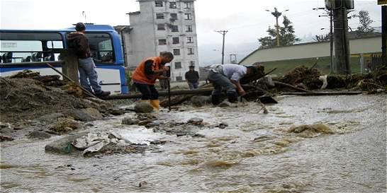 En Manizales las lluvias ya dejan una víctima fatal