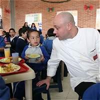 El chef Jorge Rausch se une a la Fundación 'A la Rueda Rueda'