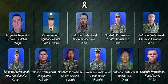 La última llamada de uno de los soldados que murió en ataque de Farc