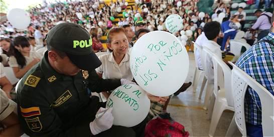 Van más de 300 casos de violencia infantil este año en Bucaramanga