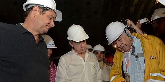 'En noviembre del 2016 estaremos inaugurando el Túnel de la Línea'