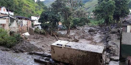En imágenes: La emergencia en Salgar por desbordamiento de quebrada