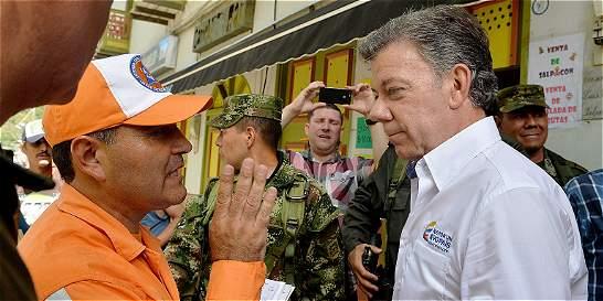 Santos reporta que van 84 muertos en la tragedia de Salgar