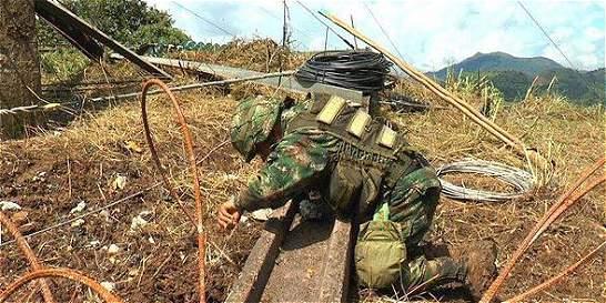 Restablecen servicio de energía en Caquetá tras ataque de las Farc