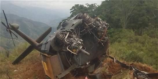 Soldado muerto en ataque a helicóptero pensaba en el retiro
