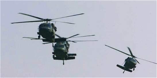 Pasajeros roban helicóptero que iba a Buenaventura