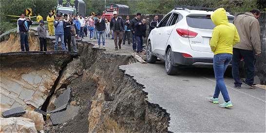 Boyacá y Casanare, incomunicados por cierre en la vía del Cusiana