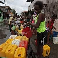 'Tenemos sed, pero sin peces también tendremos hambre'