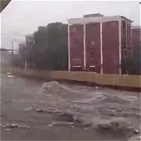 Buscan a menor desaparecida en arroyo tras aguacero en Barranquilla