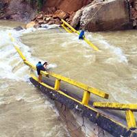 Fuertes lluvias causan fuertes estragos en Arauca