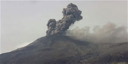 Reportan normalidad en la actividad del volcán Nevado del Ruiz