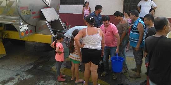 Se reestableció el servicio de agua en Ocaña, Norte de Santander