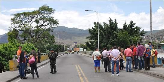 Así luce la frontera por el cierre que ordenó el Gobierno venezolano