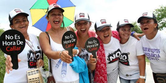 Mujeres sobrevivientes de El Salado hicieron primer retorno simbólico