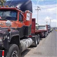Transportadores venezolanos completaron 20 días parqueados en Colombia