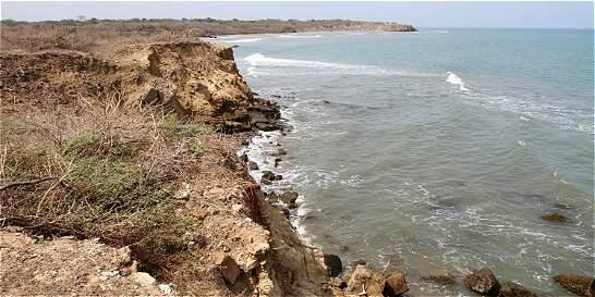 La erosión se está traganado a Galerazamba, Bolívar