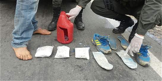 Capturan a un hombre con 2.000 dosis de bazuco en Norte de Santander