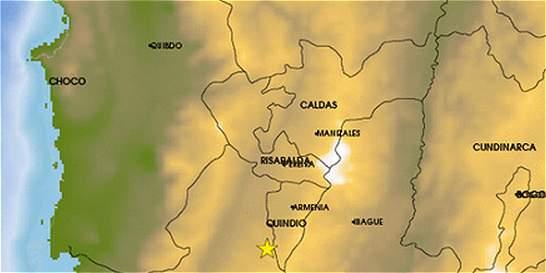 Tres viviendas afectadas dejó sismo de magnitud 4,7 en Quindío