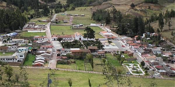 El área urbana de Busbanzá es de apenas cinco kilómetros.