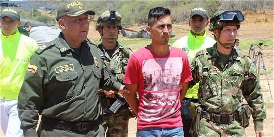 Cayó alias Visaje, cabecilla de milicias del Eln en el Catatumbo
