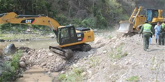 Operativos frenan captación ilegal de agua del río Pamplonita