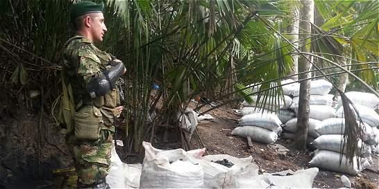 Ejército descubrió mina para la extracción ilegal de asfaltita