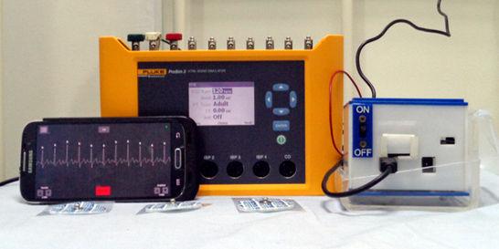 Crean en Bucaramanga un monitor cardiaco portátil