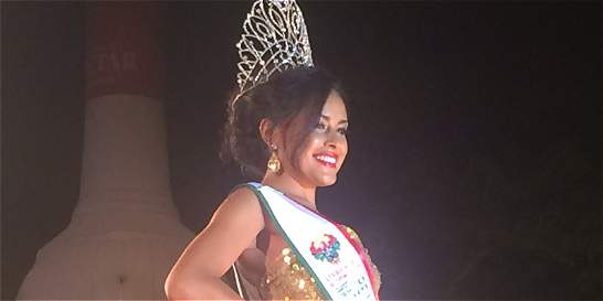La señorita Caquetá fue elegida como Reina del Turismo 2015