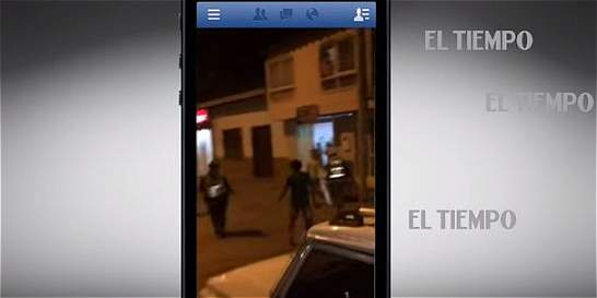 Video aficionado captó pelea en Villanueva (Santander)