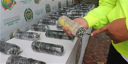 En ribera del río Pamplonita hallan 28 artefactos explosivos