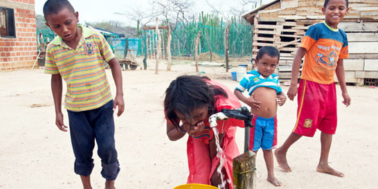 Fin a 400 años de sed en la zona rural de Riohacha