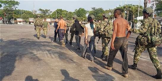 Combates en el sur de Bolívar dejan seis detenidos del Eln