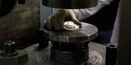 Medalla del Nobel de Paz, hecha con oro colombiano